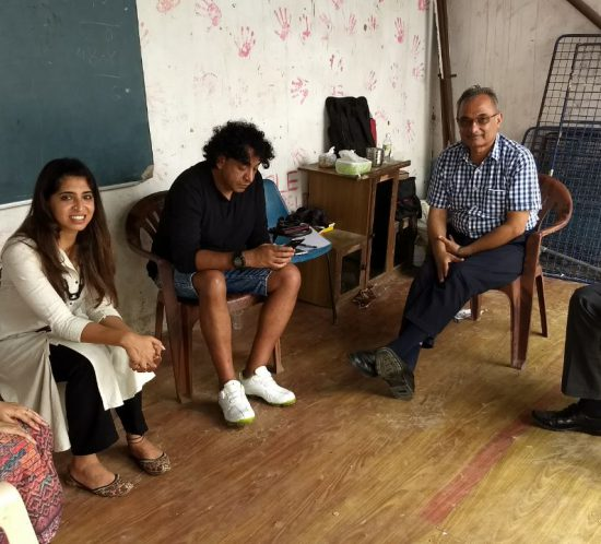 Team Global Action on Poverty visits Shobhit Mathur and Raashi Anand, GAP Changemakers