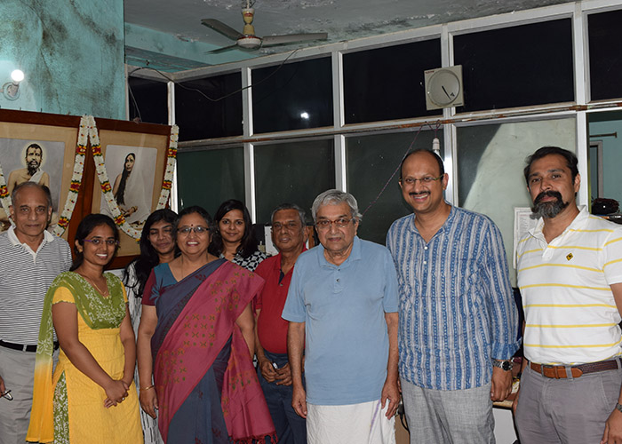 Team Global Action on Poverty visits Venkatesh Murthy, Changemaker